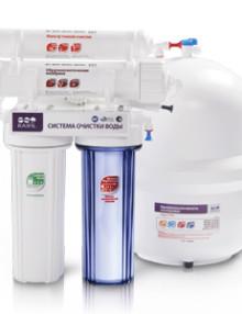 Системы очистки воды на основе обратного осмоса